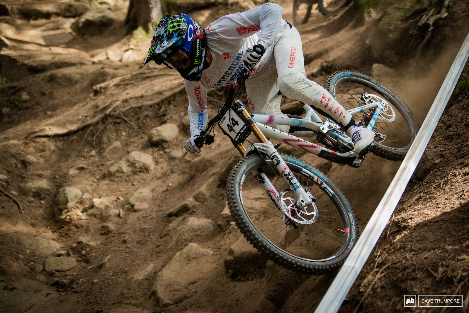Amaury Pierron loves this track and knows what needs to be done to win in Val di Sole