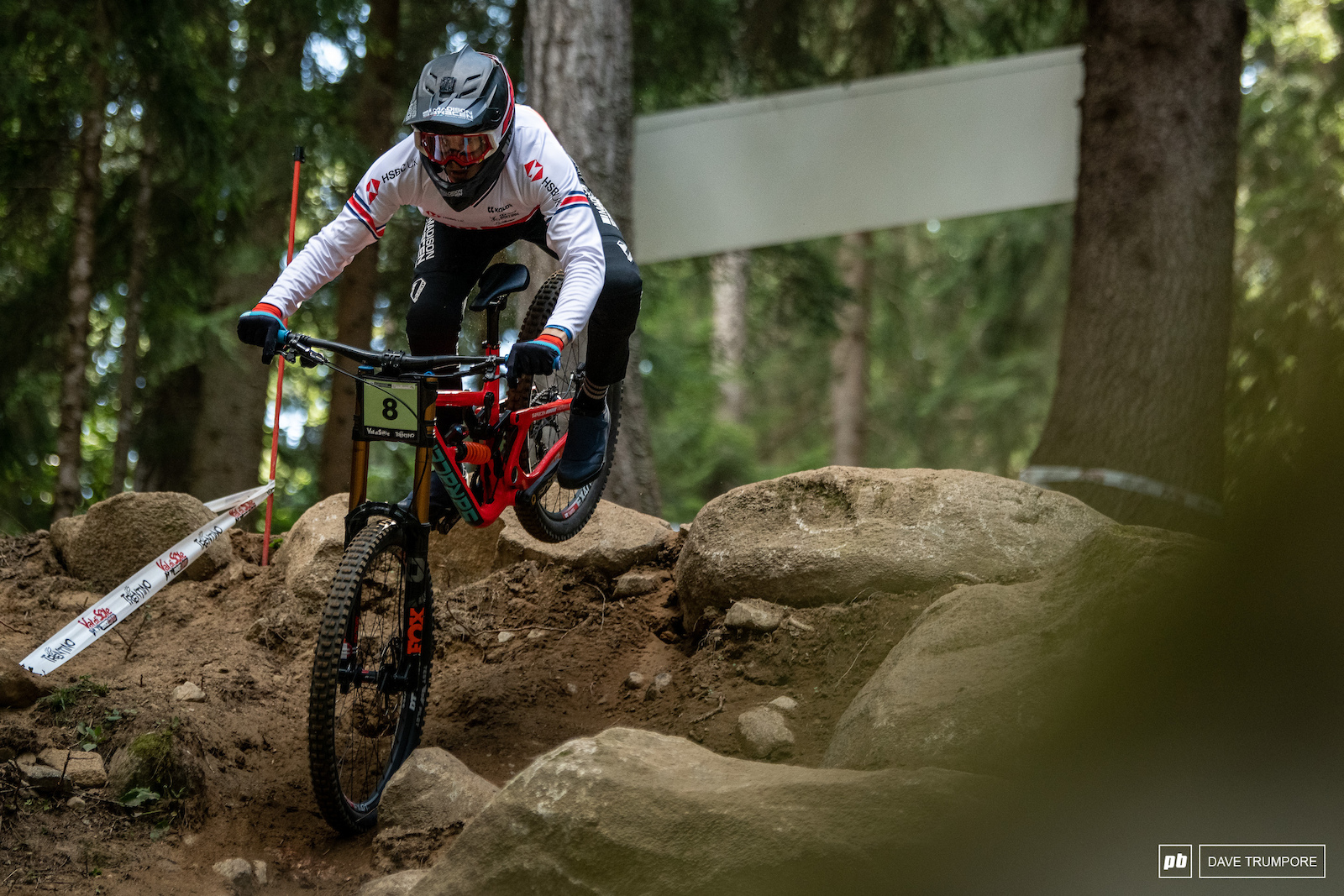 Jordan Williams had a huge crash in practice but is still in the mix amongst the Junior Men