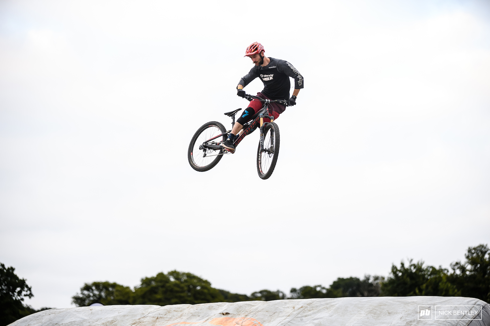 Will Soffe showing that even mini-mullet bikes are fun to ride