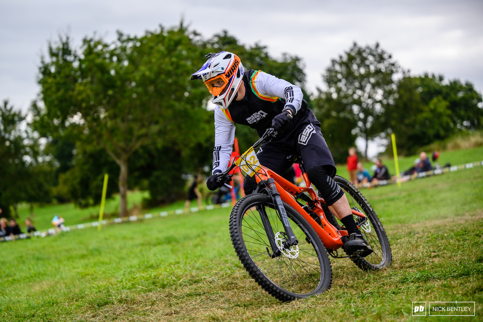 Aidan Bishop looking smooth coming in second