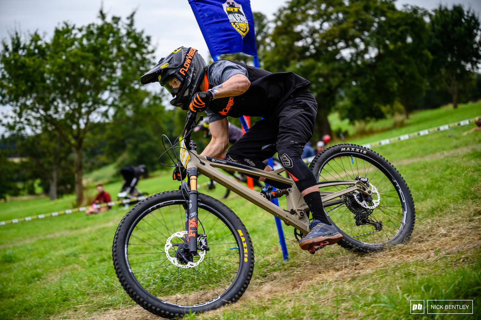Enduro bikes seemed to be the weapon of choice for most racers