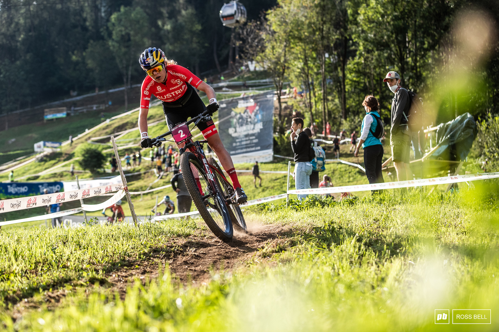 Laura Stigger made her return to the U23 class with a second place.