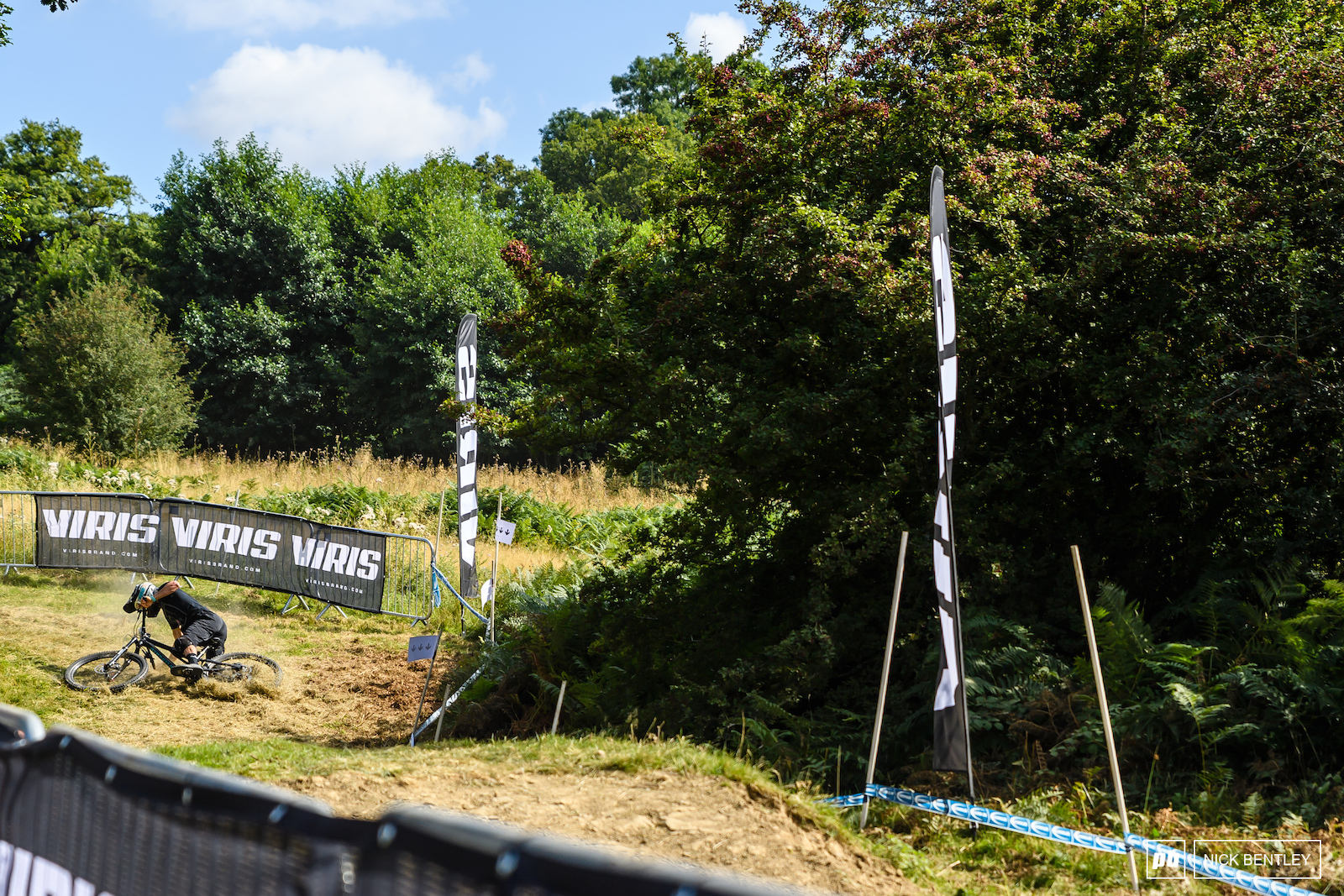 Last time we were at the Malverns Classic the Bomb-Hole was crash central. This year with the track change the grassy turn before it provided the crash entertainment