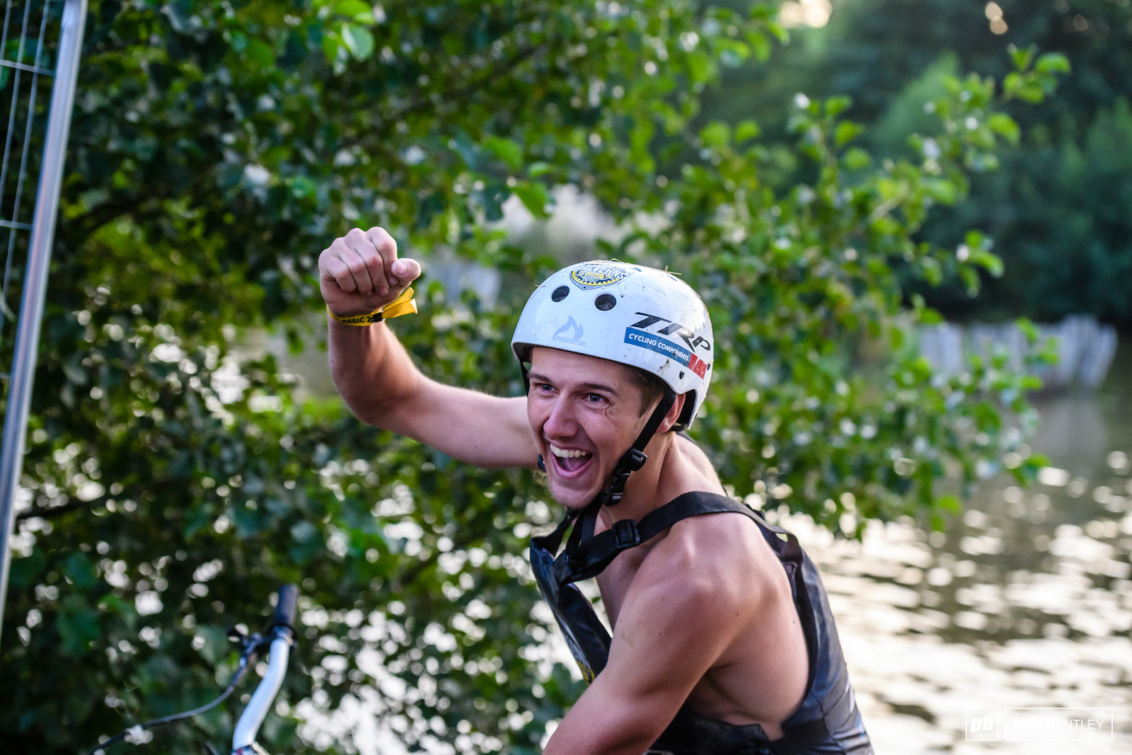 Lake Rider winner Kieran Dougherty was pretty happy with himself