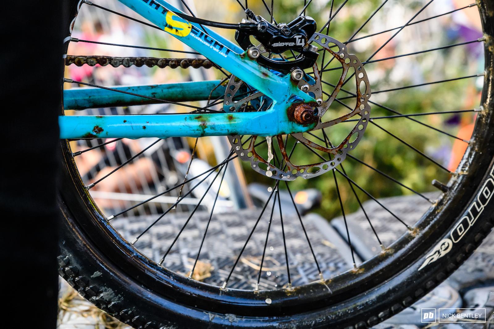 Anybody want to buy a DMR jump bike One careful owner . . .