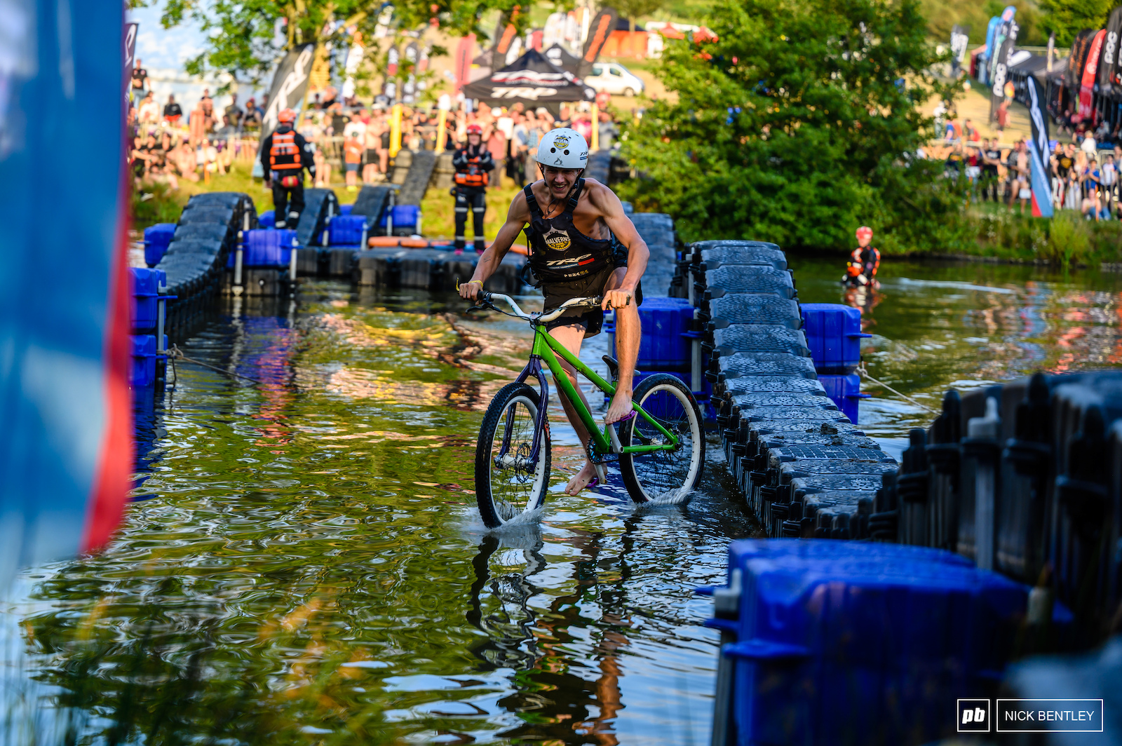 Who knew DMR bikes could ride on water