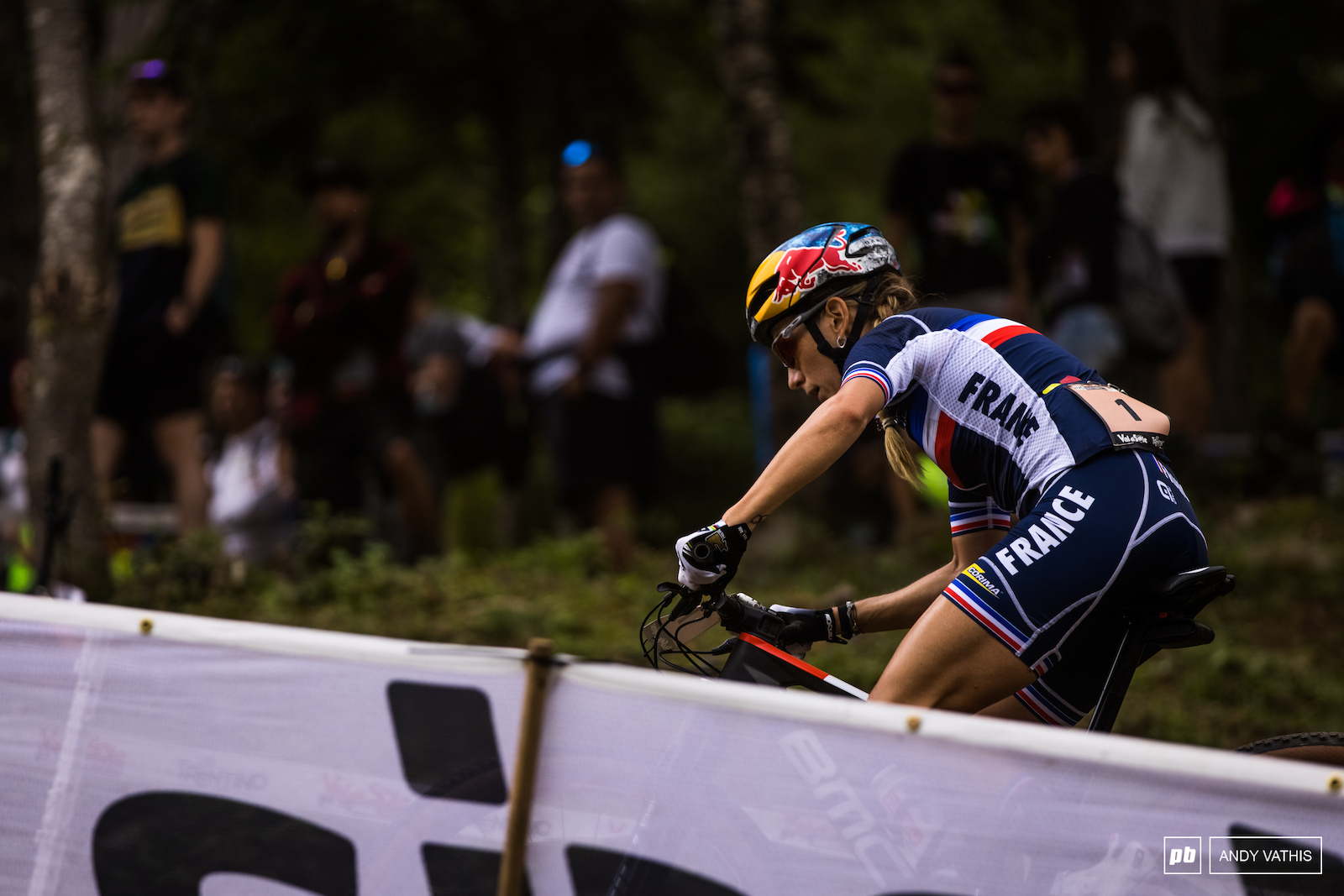 Pauline Ferrand Prevot put down the watts in the first few laps and nearly got away with it.