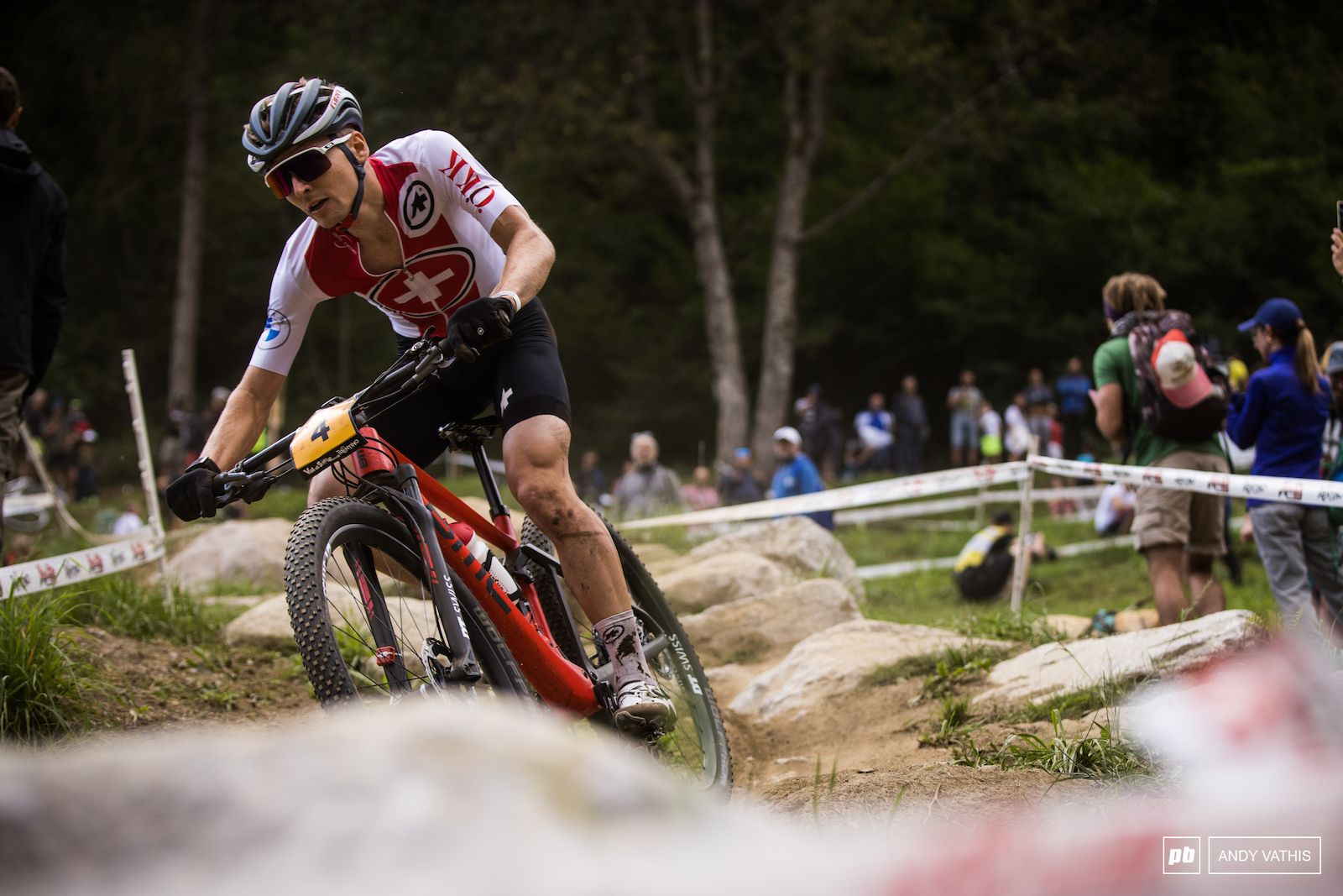 After some back and forth with the fellow countryman Joel Roth secured the final step of the podium.