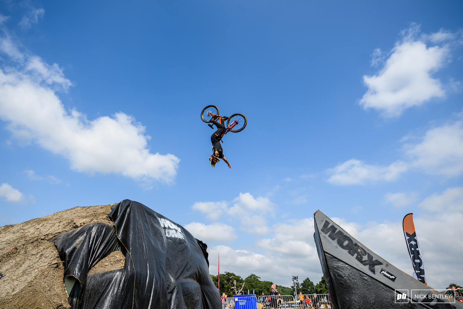 Finley Davies sending a massive Tuck No Hander back Flip - not bad for a 12 year old