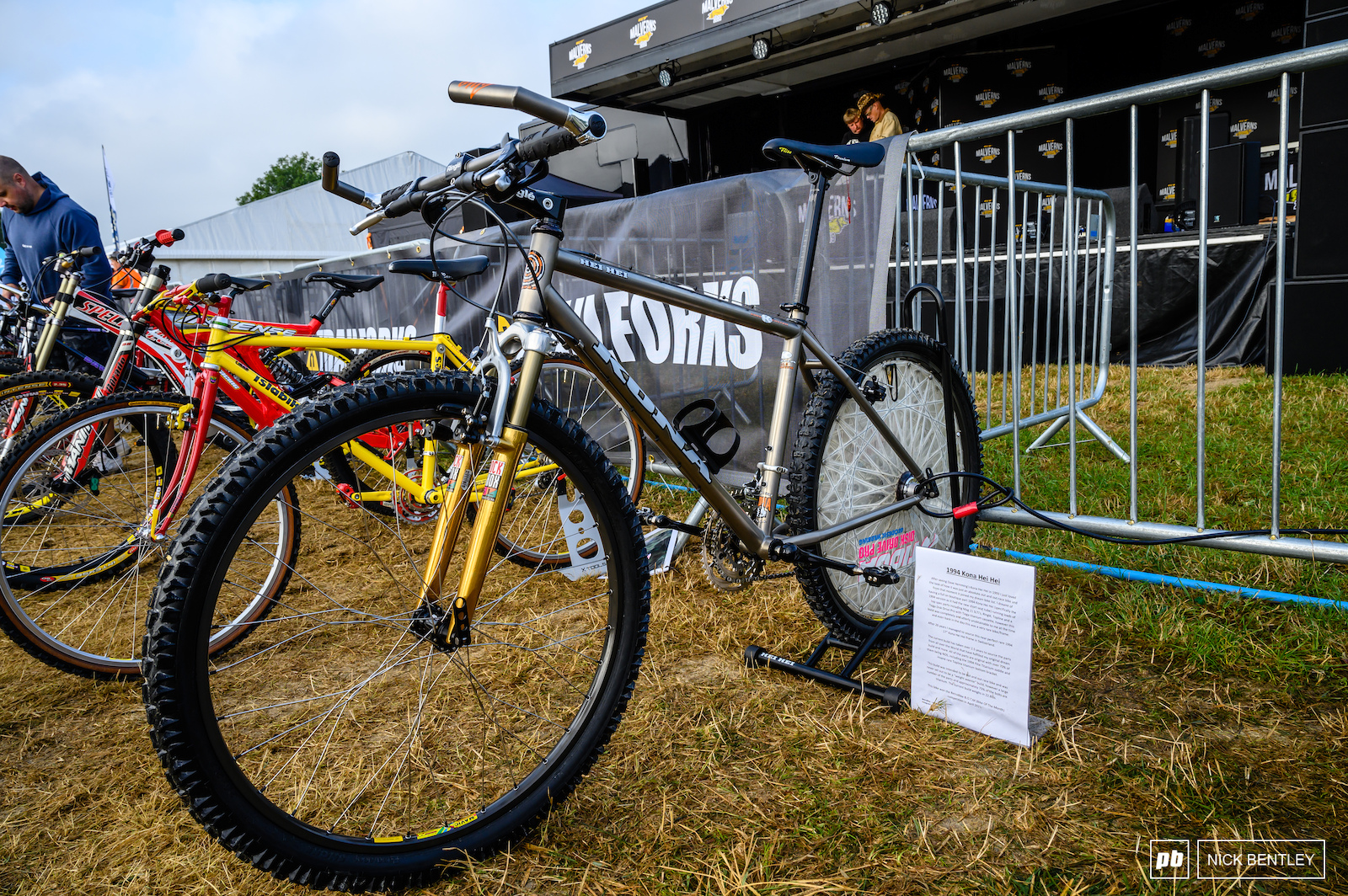 This Kona looked like it had just come out of the factory but took 2 and a half years to source and build took home second today