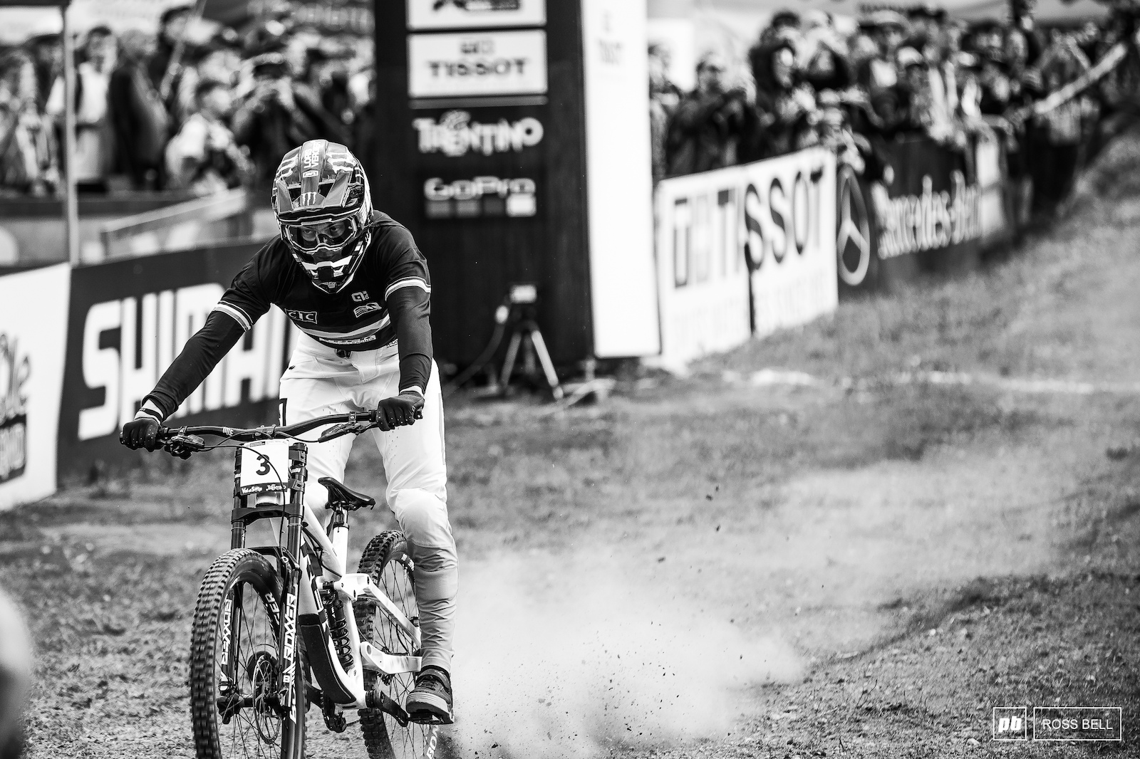 Loris Vergier out down a good run but it wasn t his day.