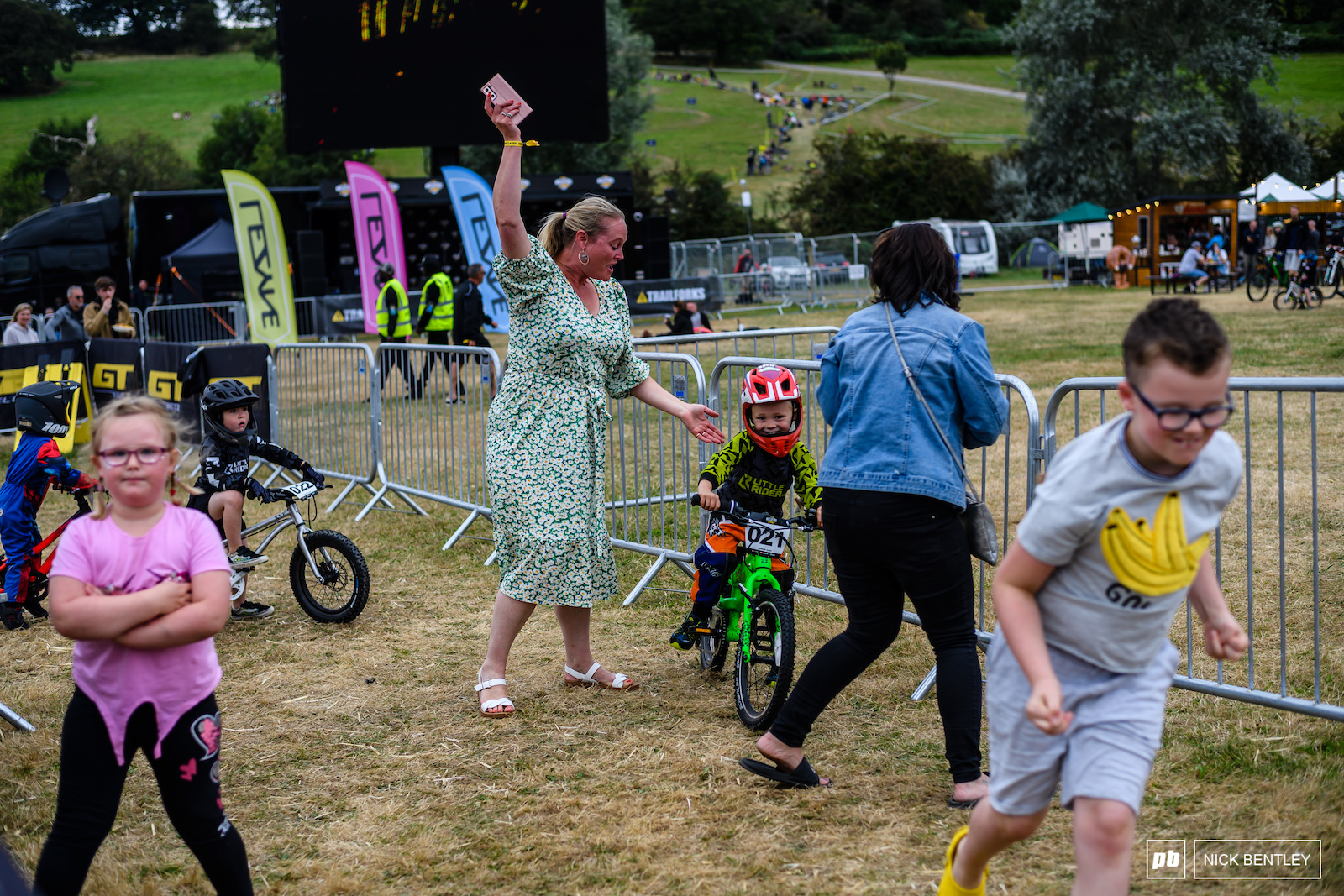 I m not sure who was more excited Mum or the rider