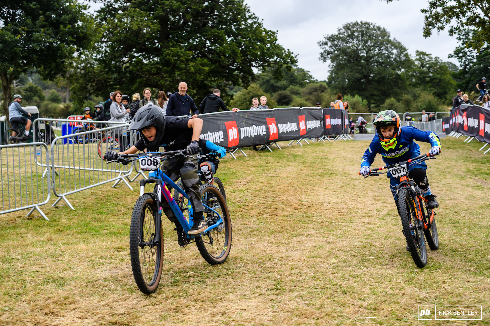 There was no quarter given in the Rippers racing. These kids were more determined than the adults to get the win