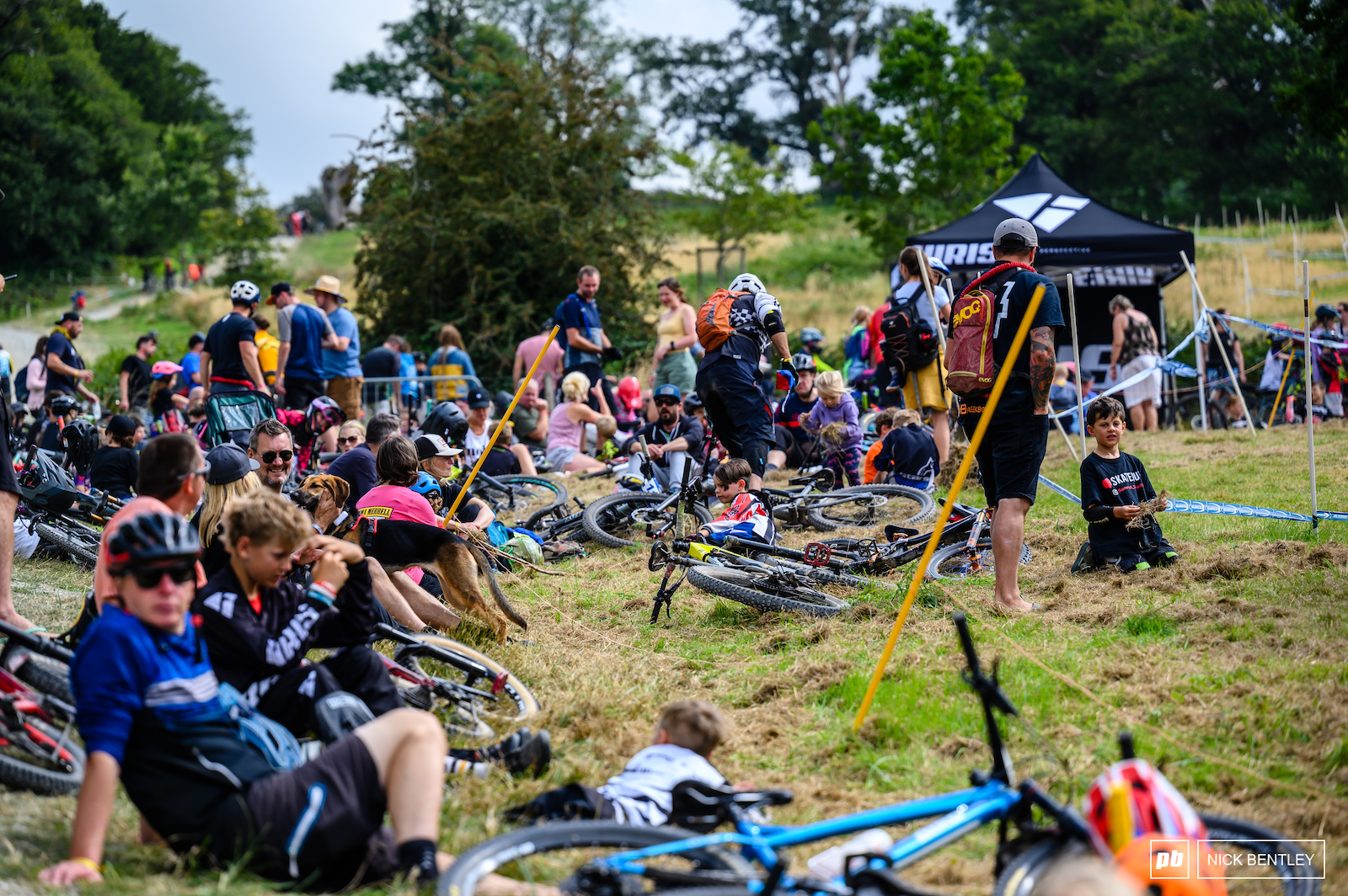 It s been so good to see all the kids racing and families at the event enjoying themselves The future of UK MTB look bright