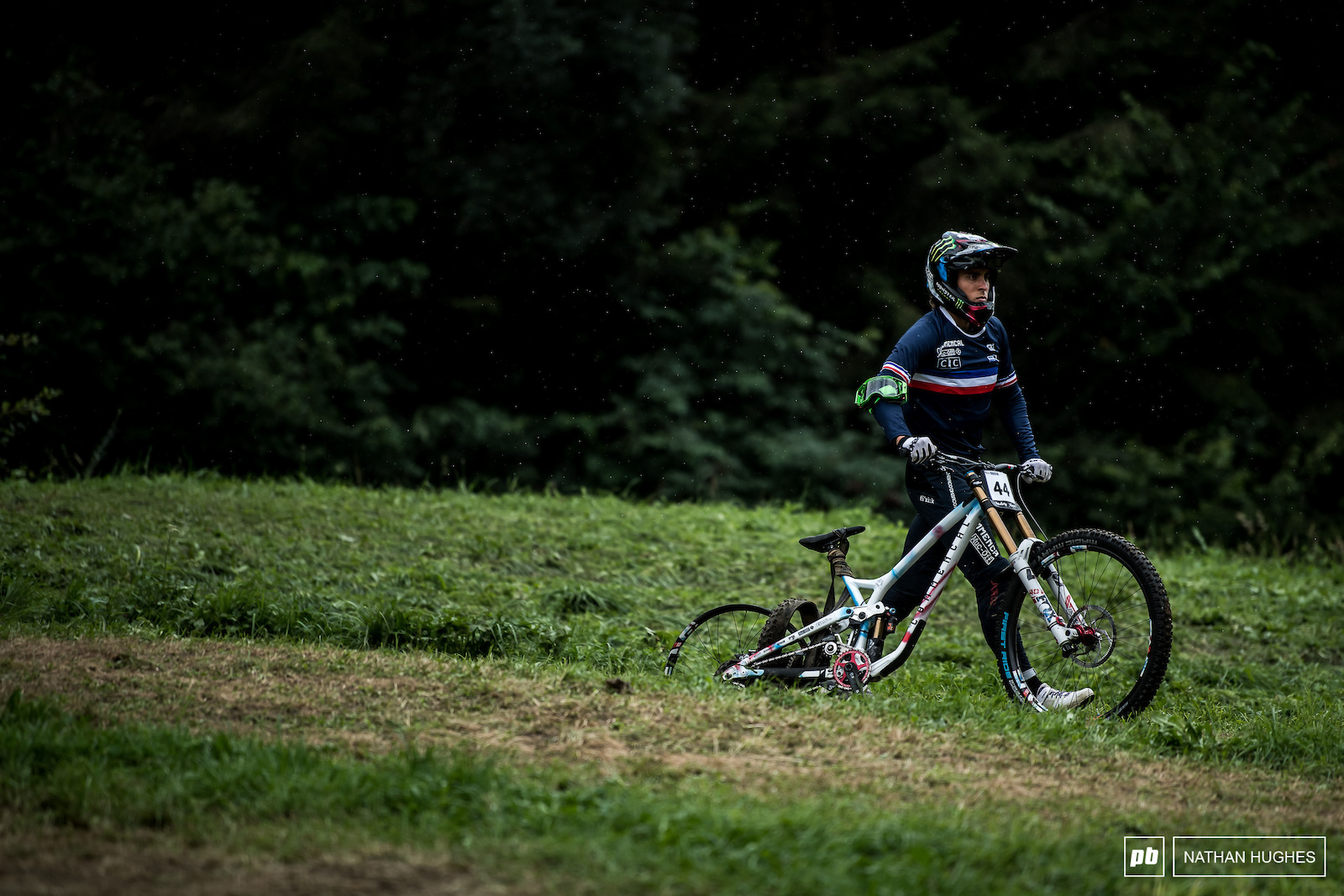 World Champs are heaven for some and hell for others. Amaury Pierron went a little past purgatory.