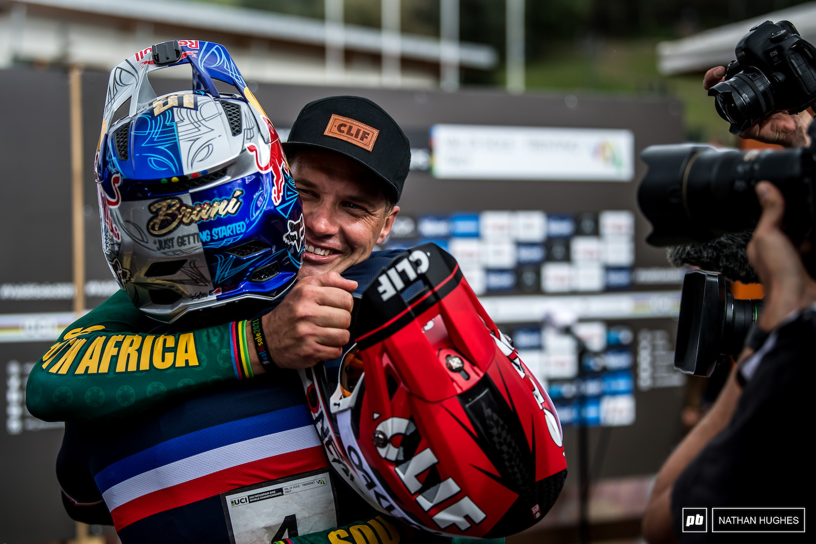 The special bond of Loic Bruni and the winningest.