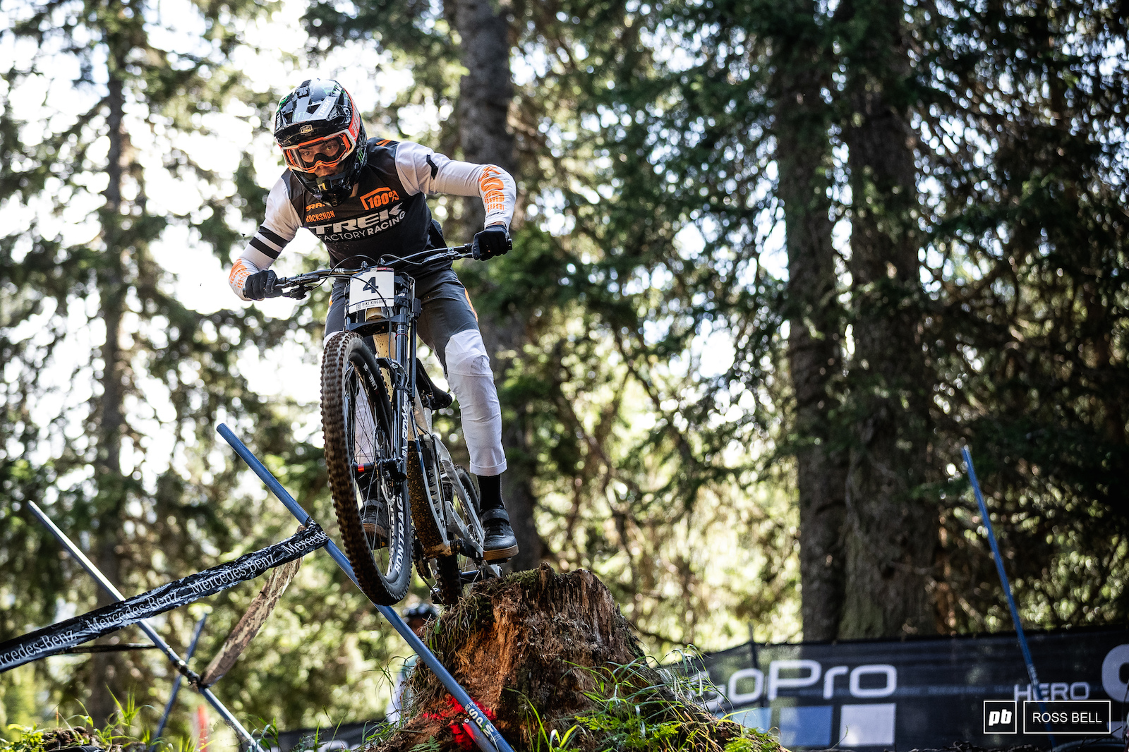 Loris Vergier is on it at the moment. He s arguably been the fastest rider this season without that flat in Leogang and the rain in Les Gets he might well have been leading the overall.