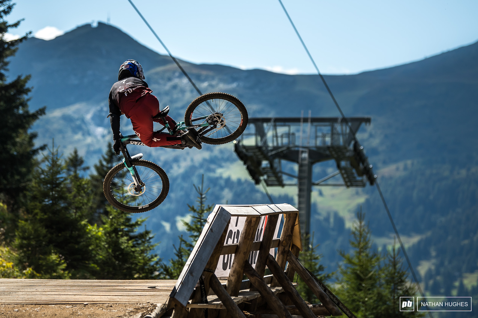 The youngest ever Crankworx Whistler whip-off winner with a little reminder.