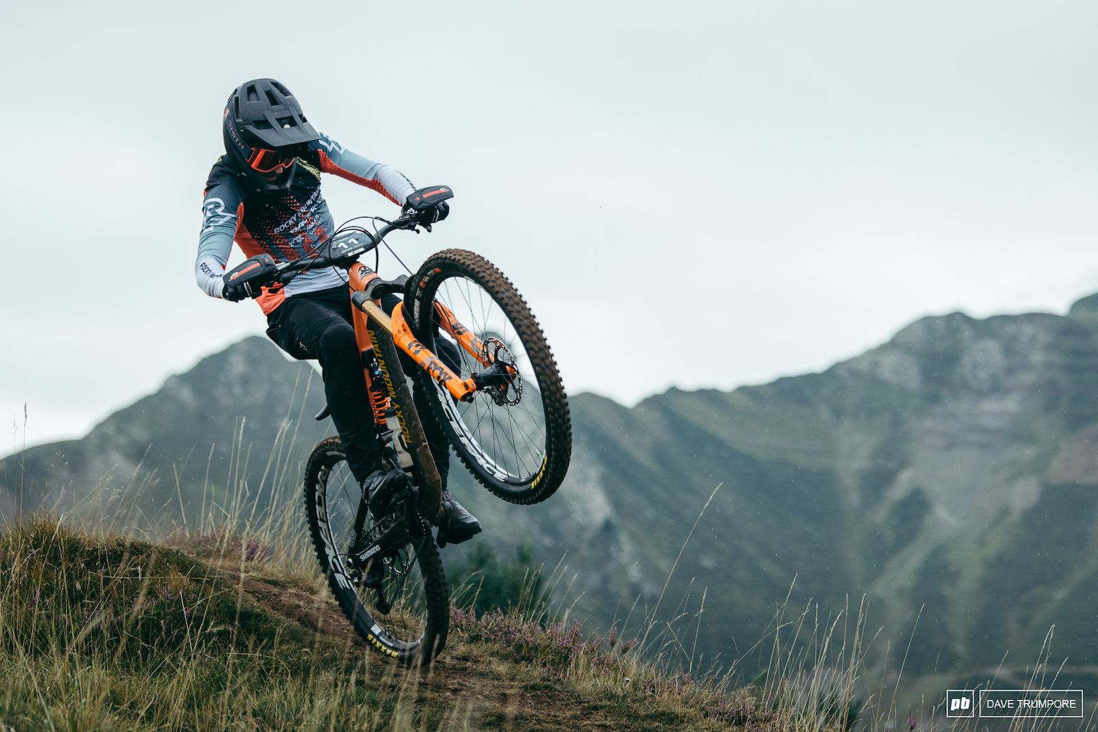 Jesse Melamed would ave liked a bit more tech to showcase his skills but would still manage a respectable 8th on the fast and open slopes in Loudenvielle