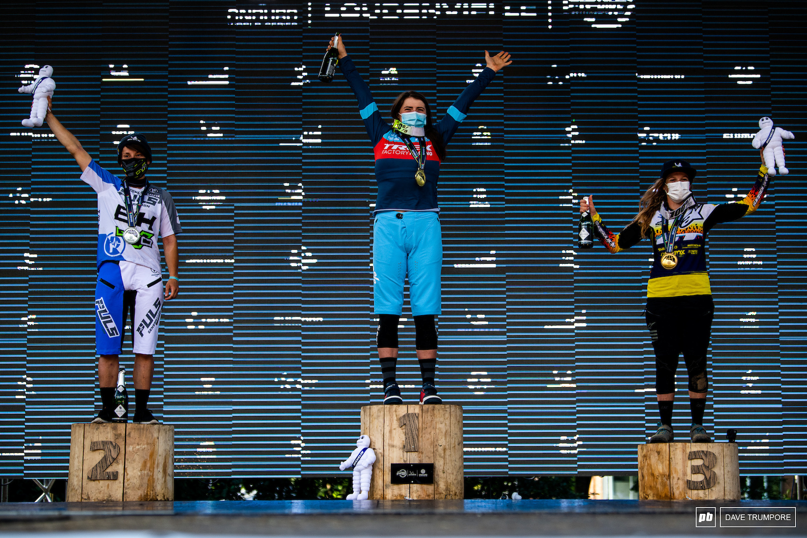 Harriet Harnden put the power down to take the win in front of Melanie Pugin and Noga Korem