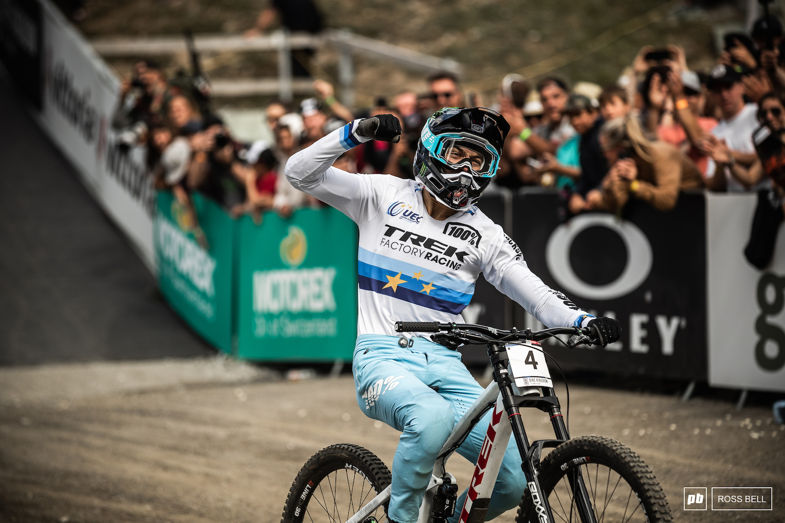 Second World Cup win in a row for Loris Vergier.