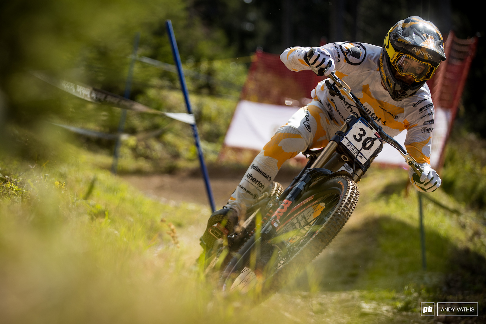 Andreas Kolb into 15th. He had the hot seat for a while too.