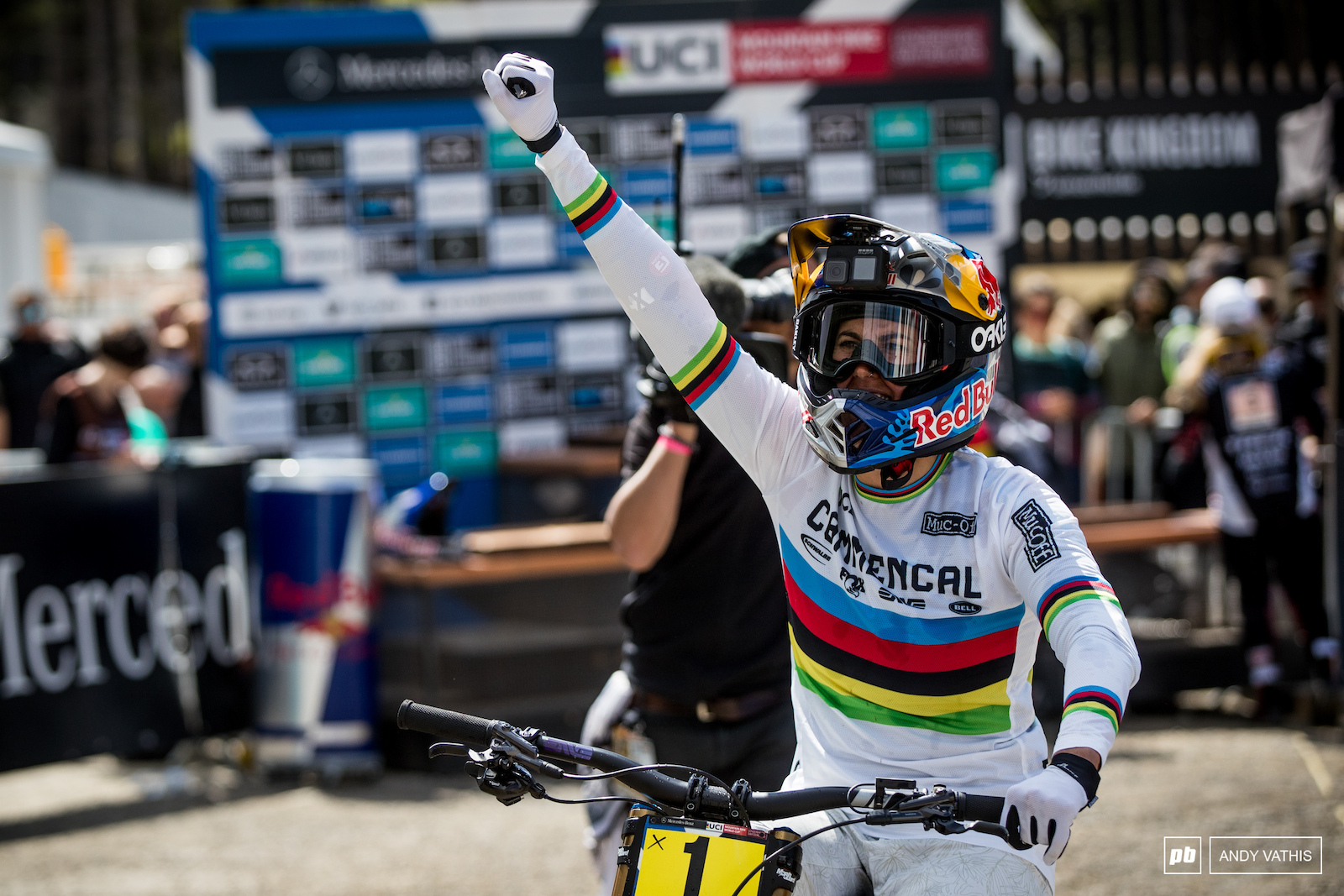 What a win for Myriam Nicole. Untouchable.