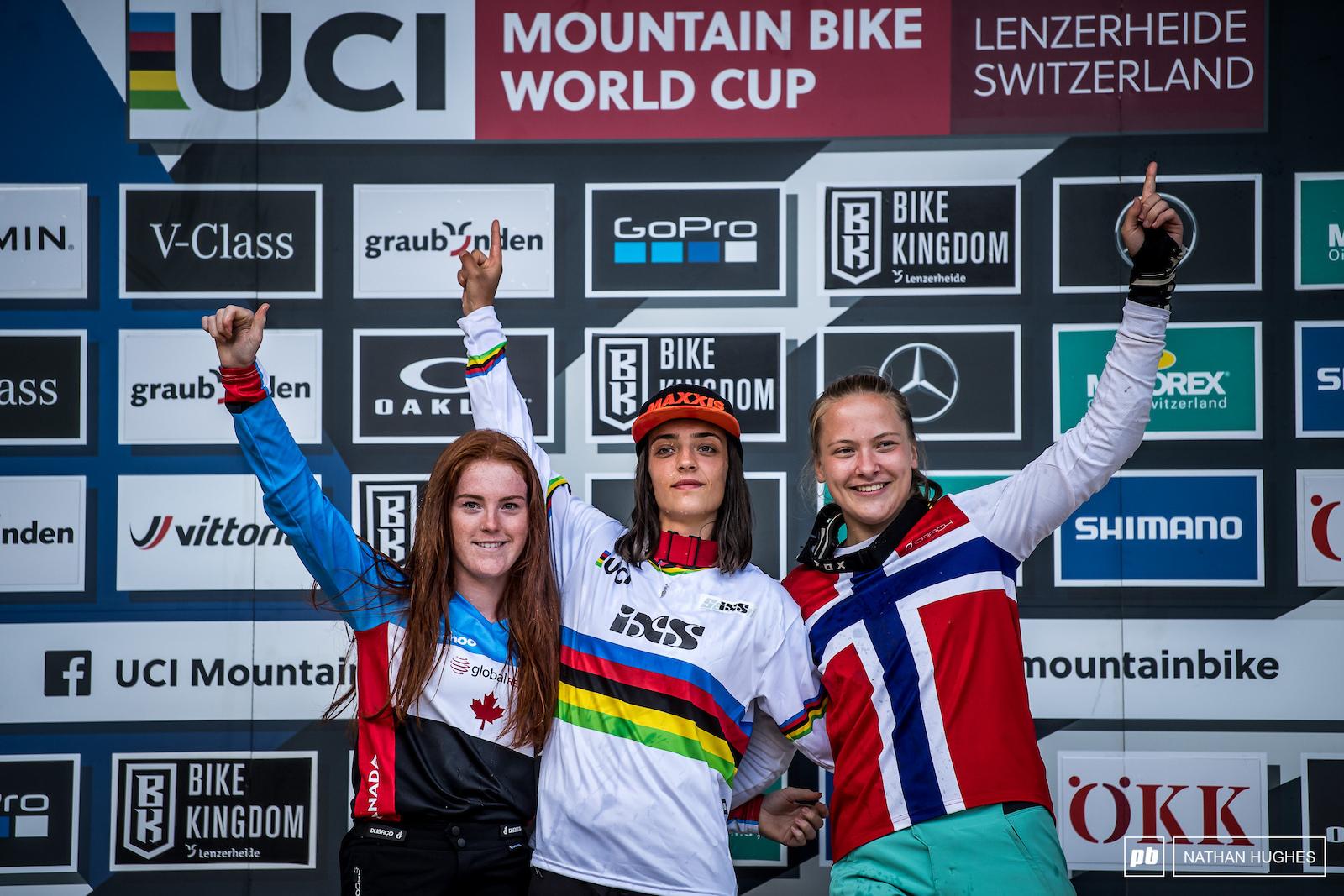Yankova Hemstreet and Haugom your junior women at the top.