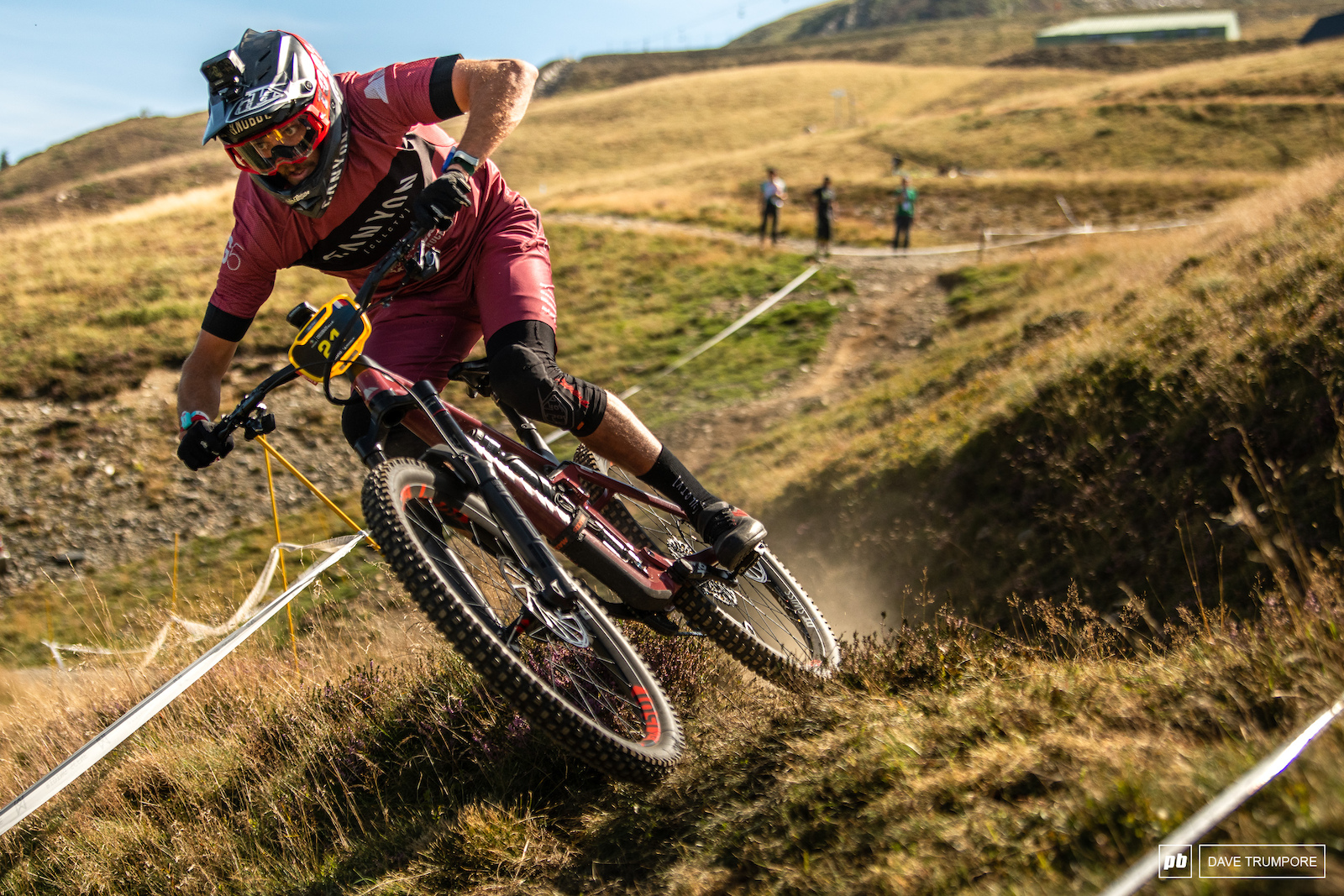 Jack Moir made it two wins in two tries In Loudenvielle thanks in part to a little luck after Richie Rude dropped a chain on the final stage