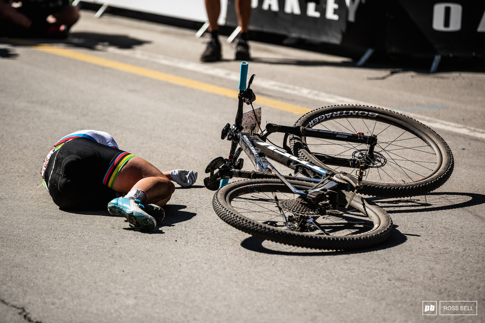 Evie Richards left it all out there today.