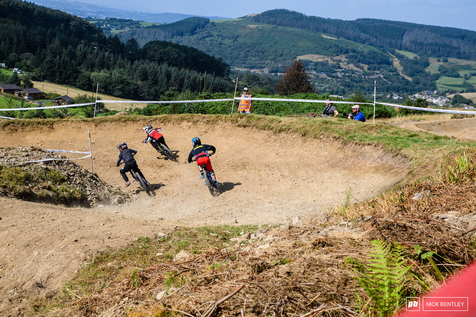 Afan s Stunning views were only beten by the close racing on track
