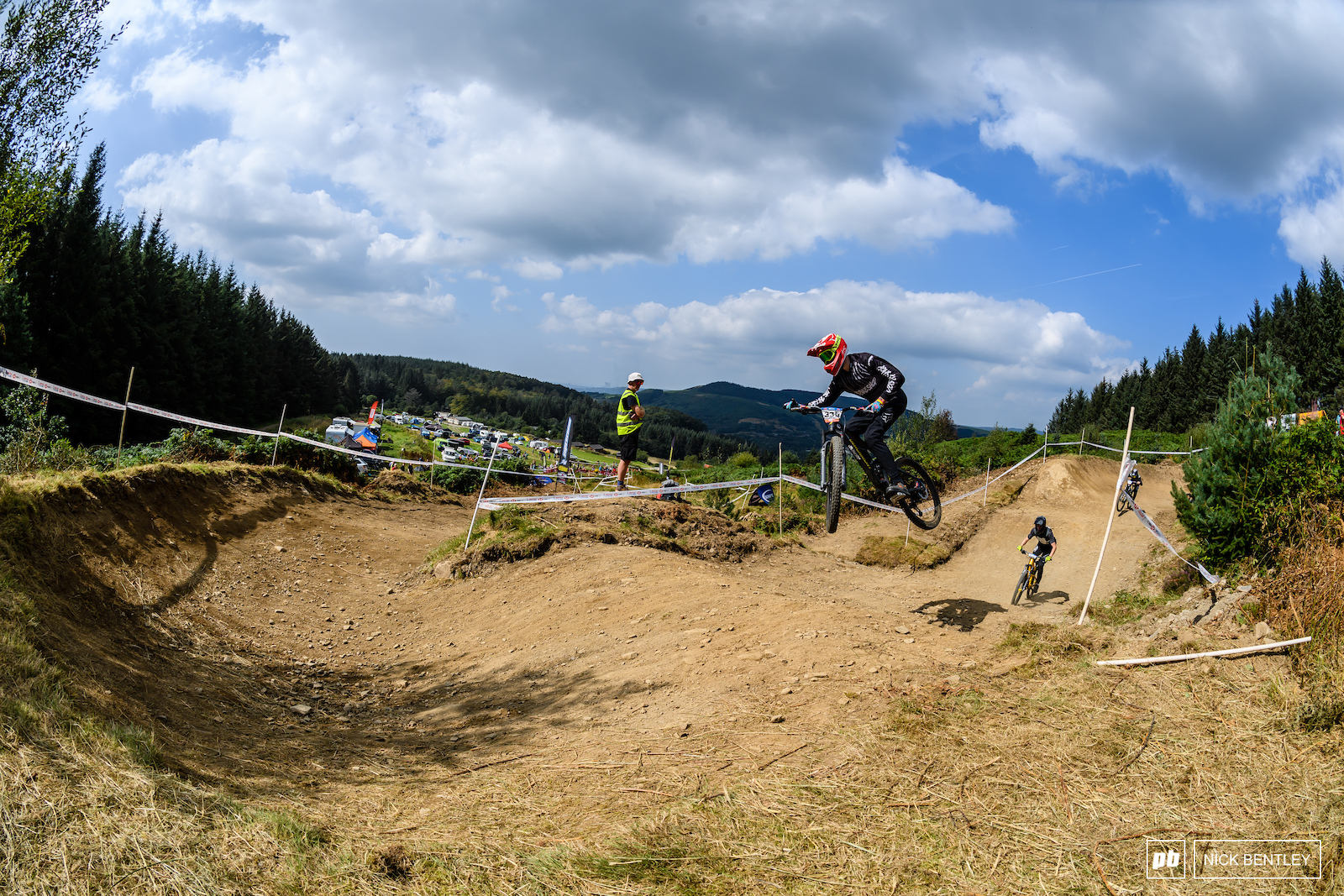 there s plenty of opportunities to send it on the amazingly refurbished Afan track. the Afan forest trail volunteers did an amazing job of refurbishing the track for this weekend of racing