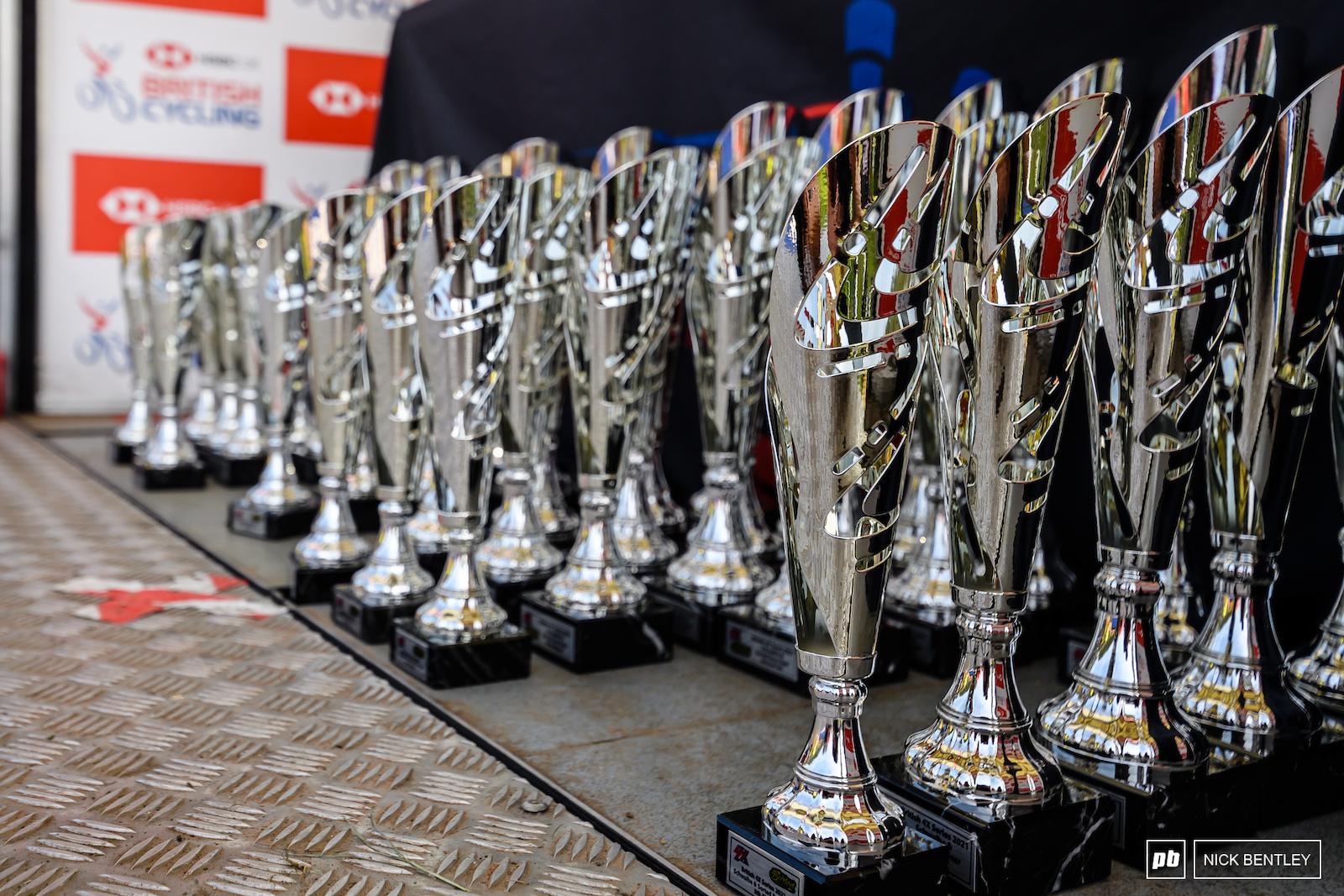 Lots of shiny trophies ready for the series winners. Hats off to Chris Roberts and the team at Naked Racing they put on an amazing series once again