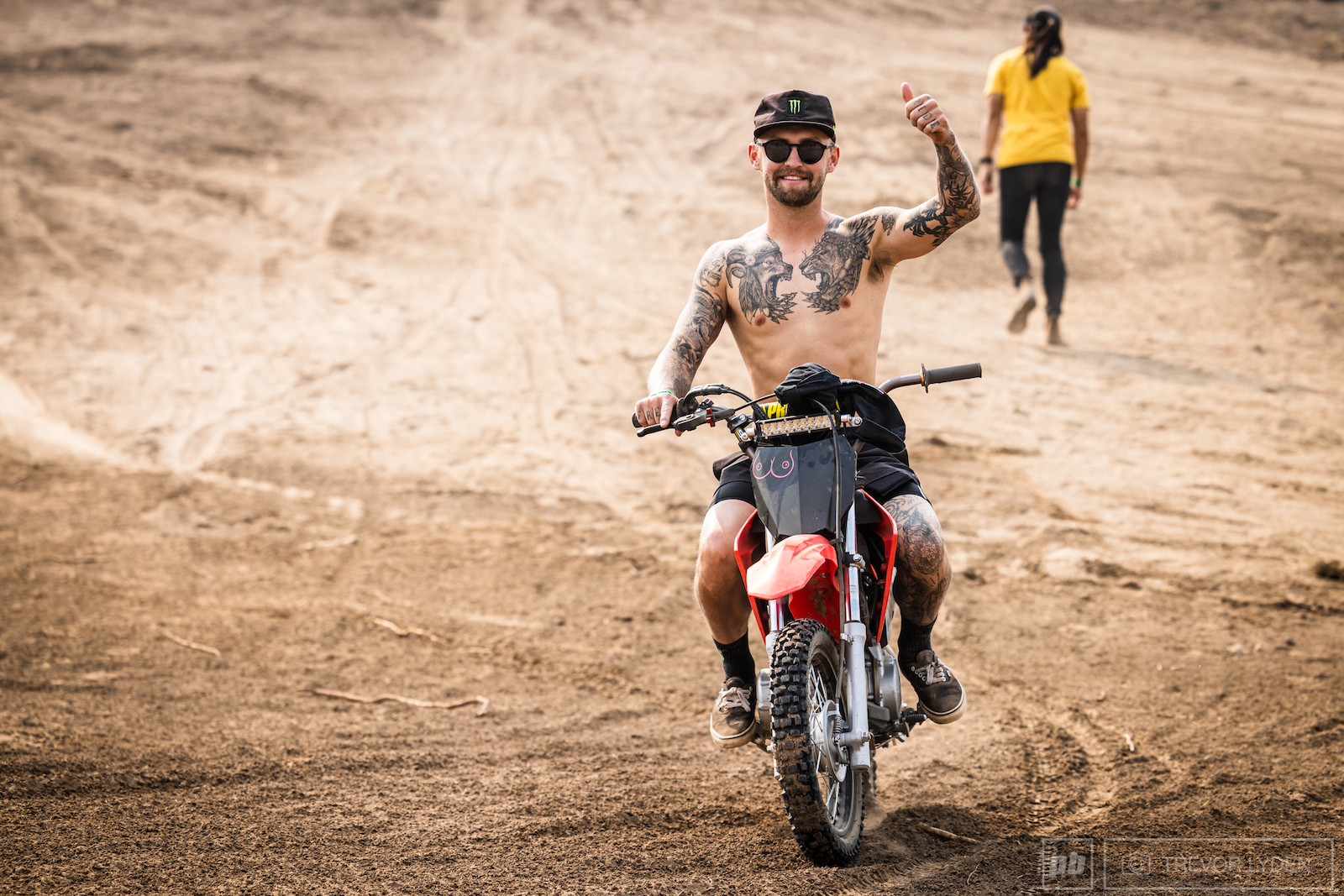 Give Ethan Nell a pit bike and he s never not smiling.