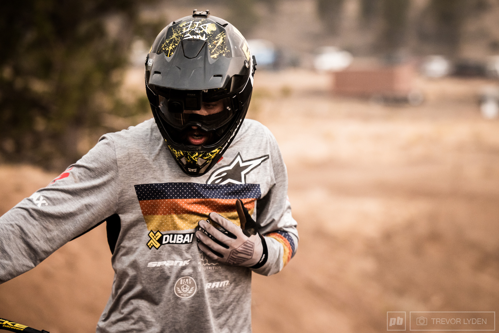 The first practice day is all about getting the feel of things sometimes that includes a few close calls.