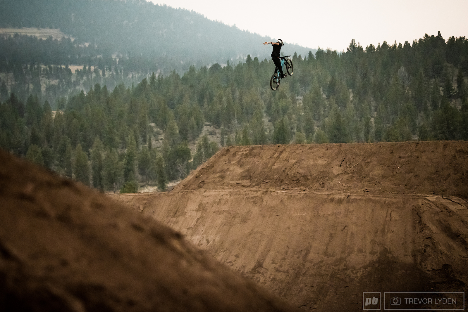 Local ripper Ryan McNulty showing that he can hang with the big names.