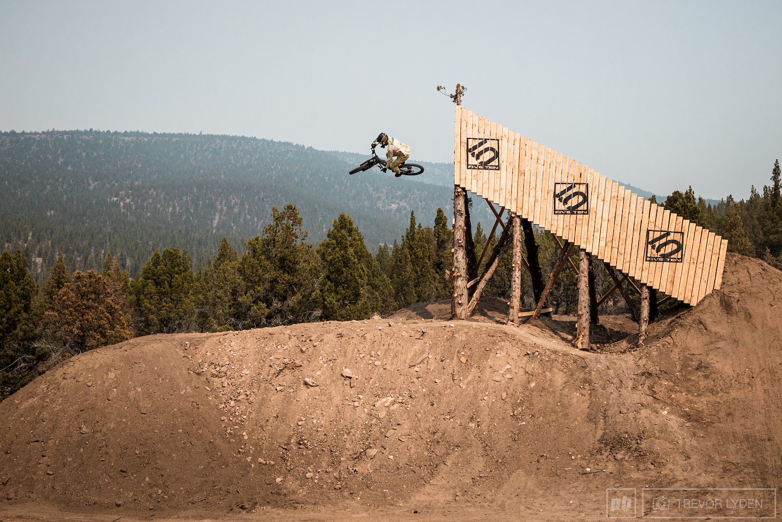BMX crossover Dylan Stark was the first rider brave enough to send the Five Ten mega shark fin.