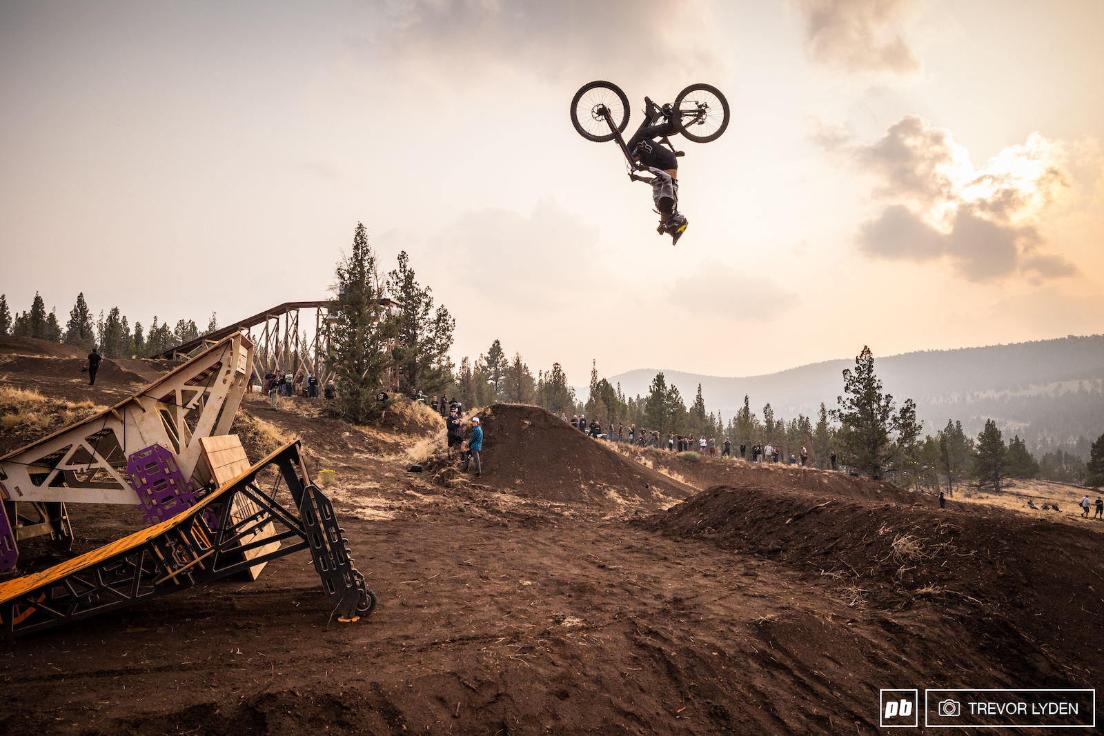Cam McCaul hopping around. Get it It s because they re hopper ramps.