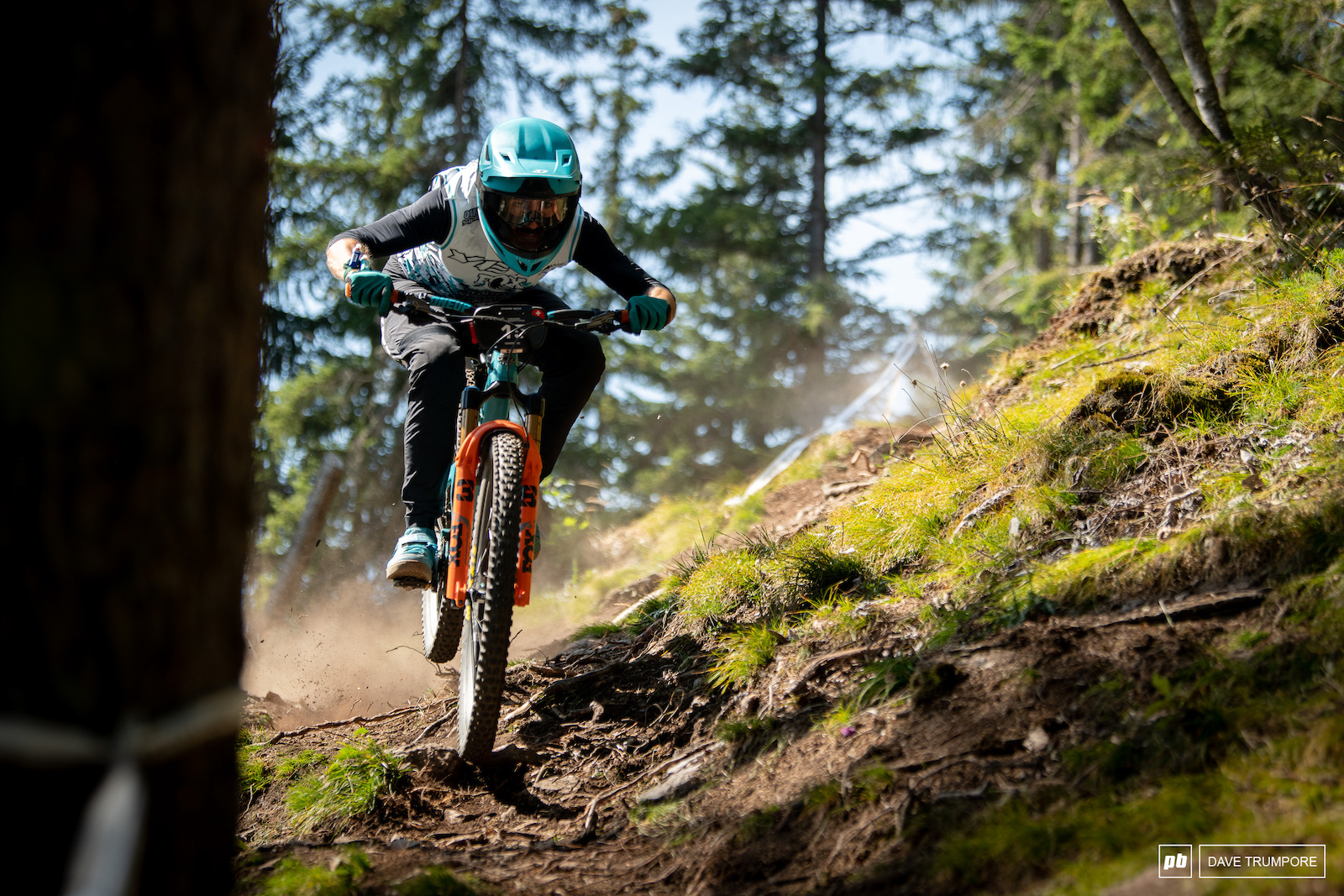Shawn Neer on the dusty natural terrain of Stage 4