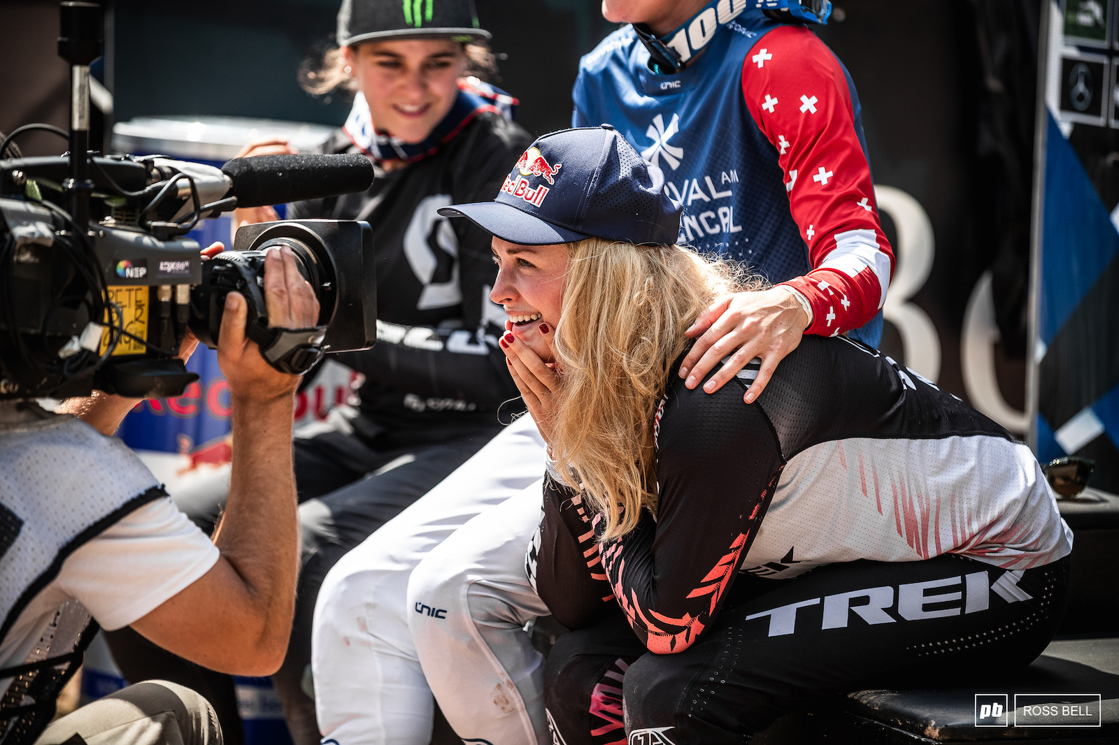 Disbelief. Vali Holl hasn t had the season her or anyone expected but she s kept working away and was rewarded today.