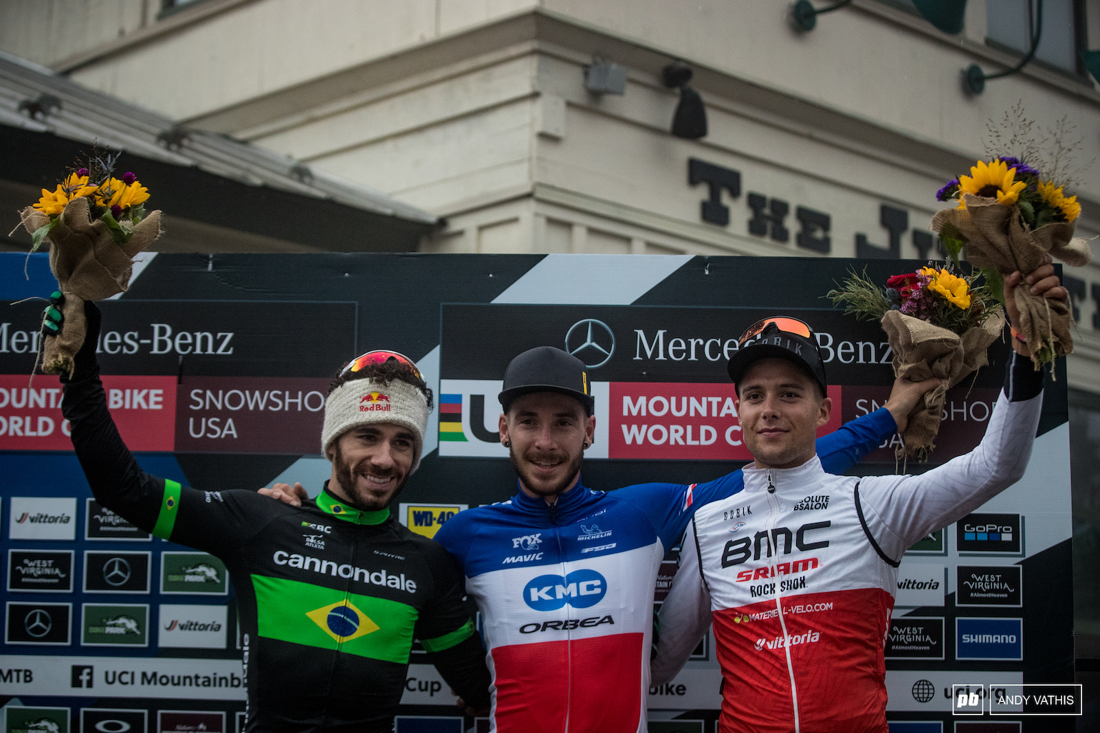Your top 3 men 1st Victor Koretzky 2nd Henrique Avancini and 3rd Filipp0 Colombo