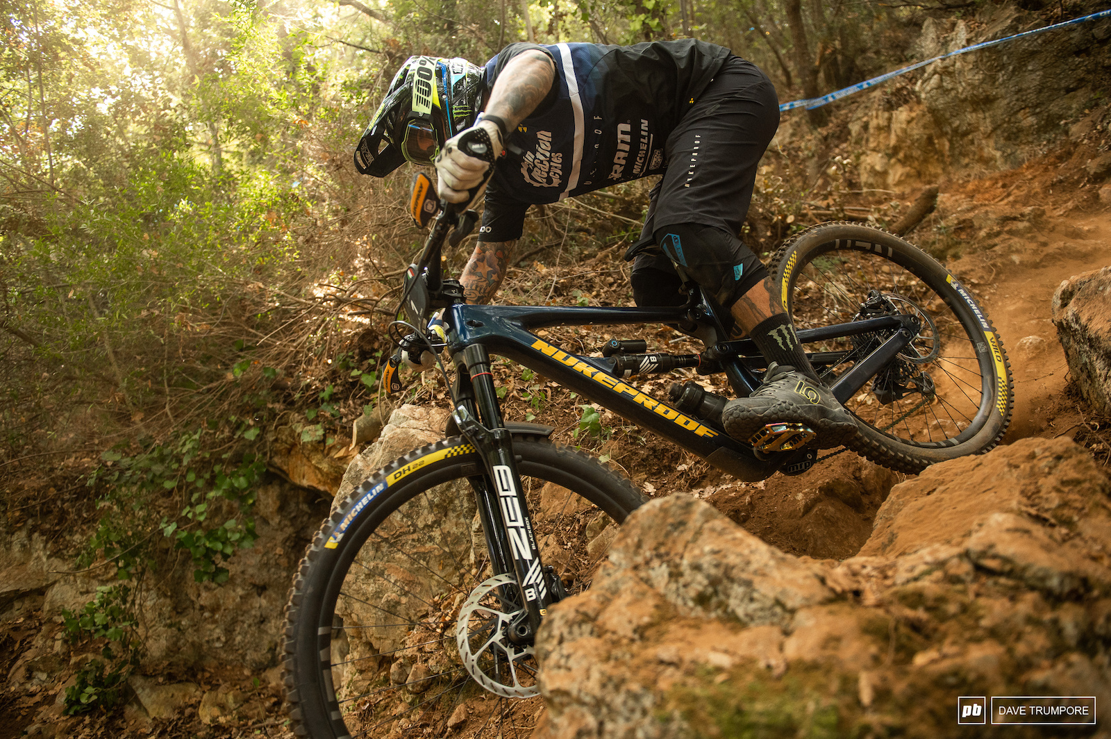 Sam Hill might not be having a great season but he still makes the hardest sections of trail looks simple
