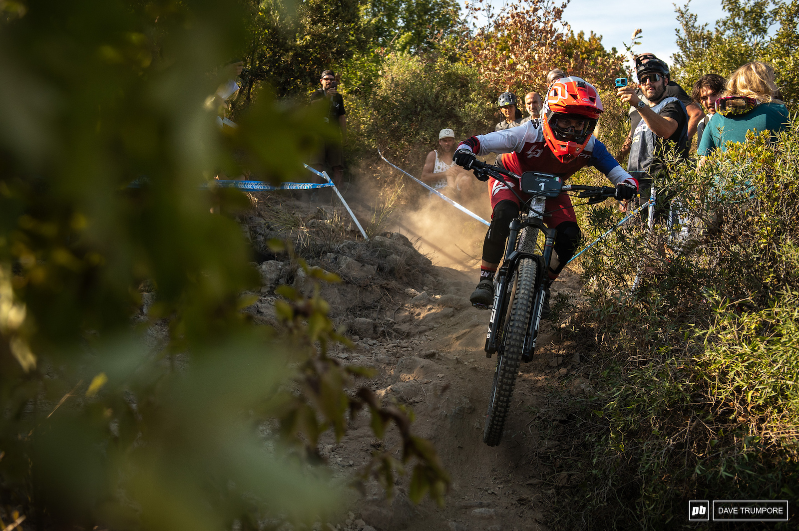 Isabeau Courdurier will be chasing after the overall podium this week