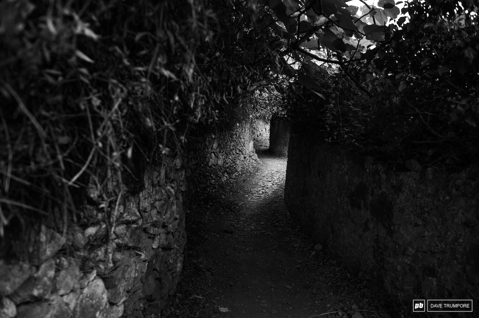 twisty ancient streets in a very old part of the world