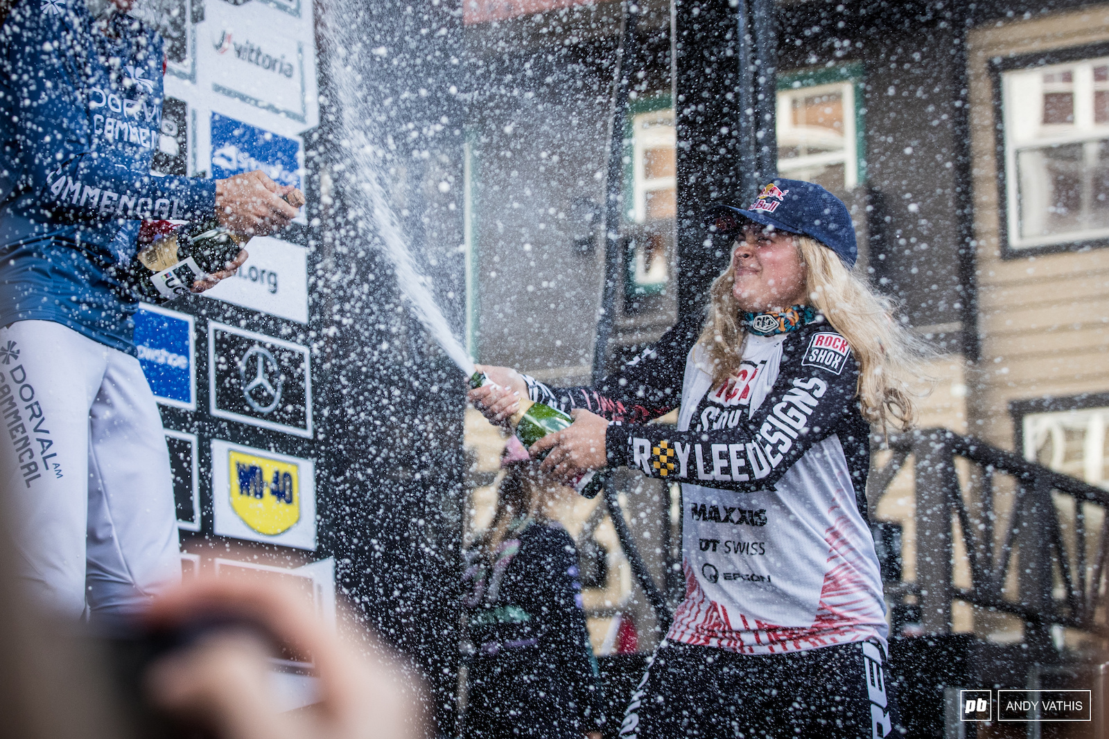 Two wins here in West Virginia for Vali Holl and the overall title. Lots of champagne forecasted in the near future for her.