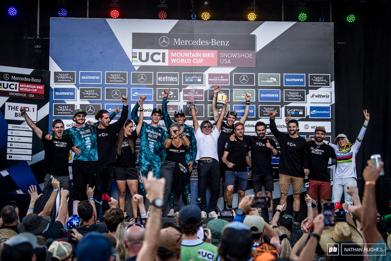 The fastest team in the World for 2021 Commencal Muc-Off.