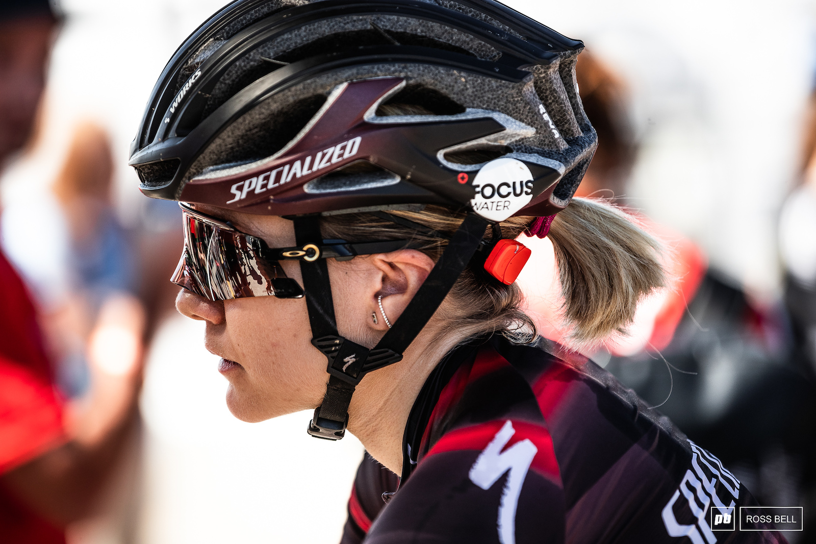 The short track World Champ Sina Frei looking to cap a strong season with another good race.