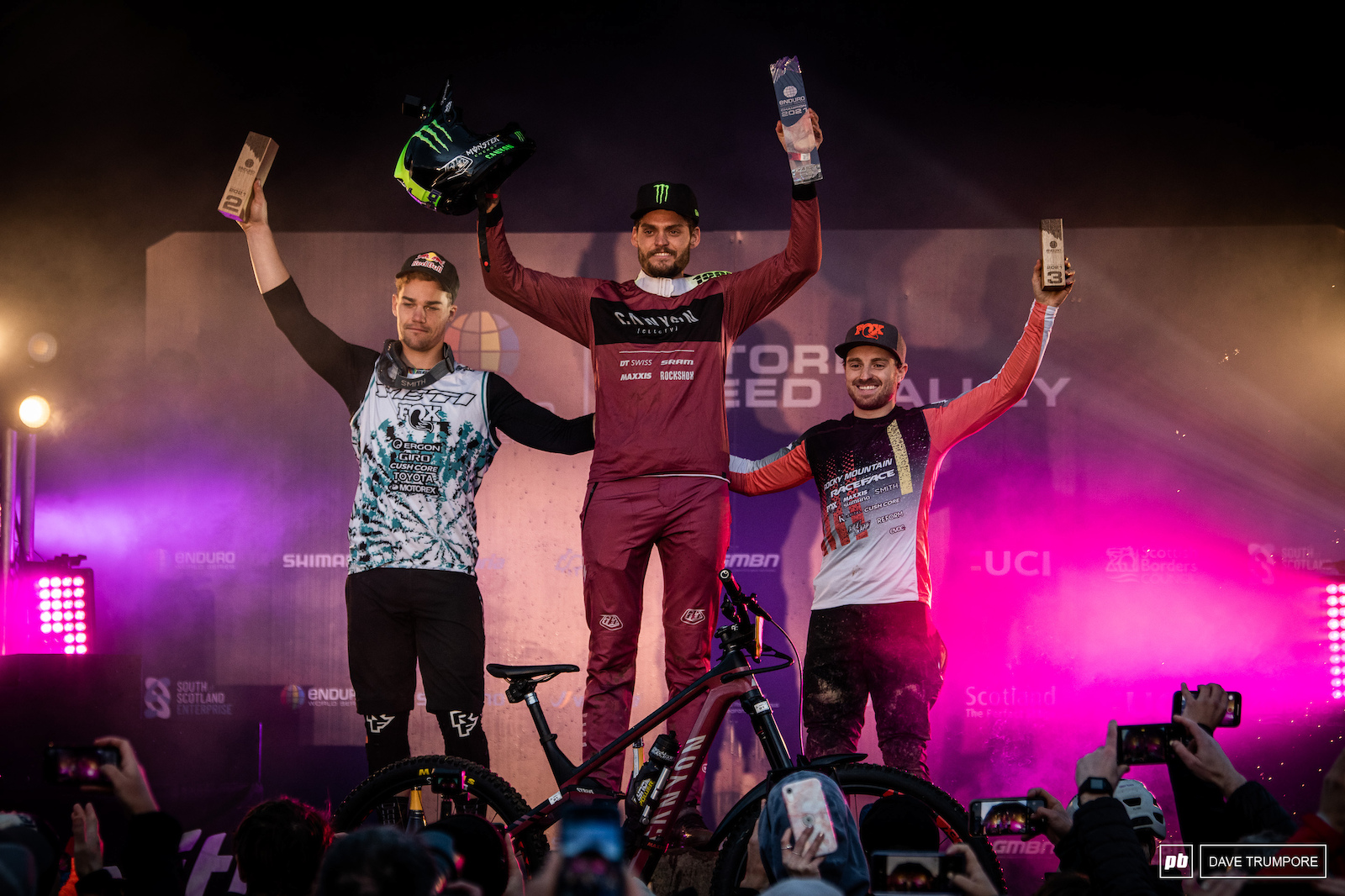 Jack Moir is the new EWS Champion followed by Richie Rude and Jesse Melamed