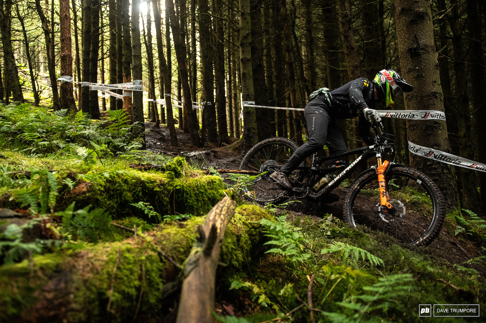 Andam Brayton trying his hand at the EWS on Stage 2