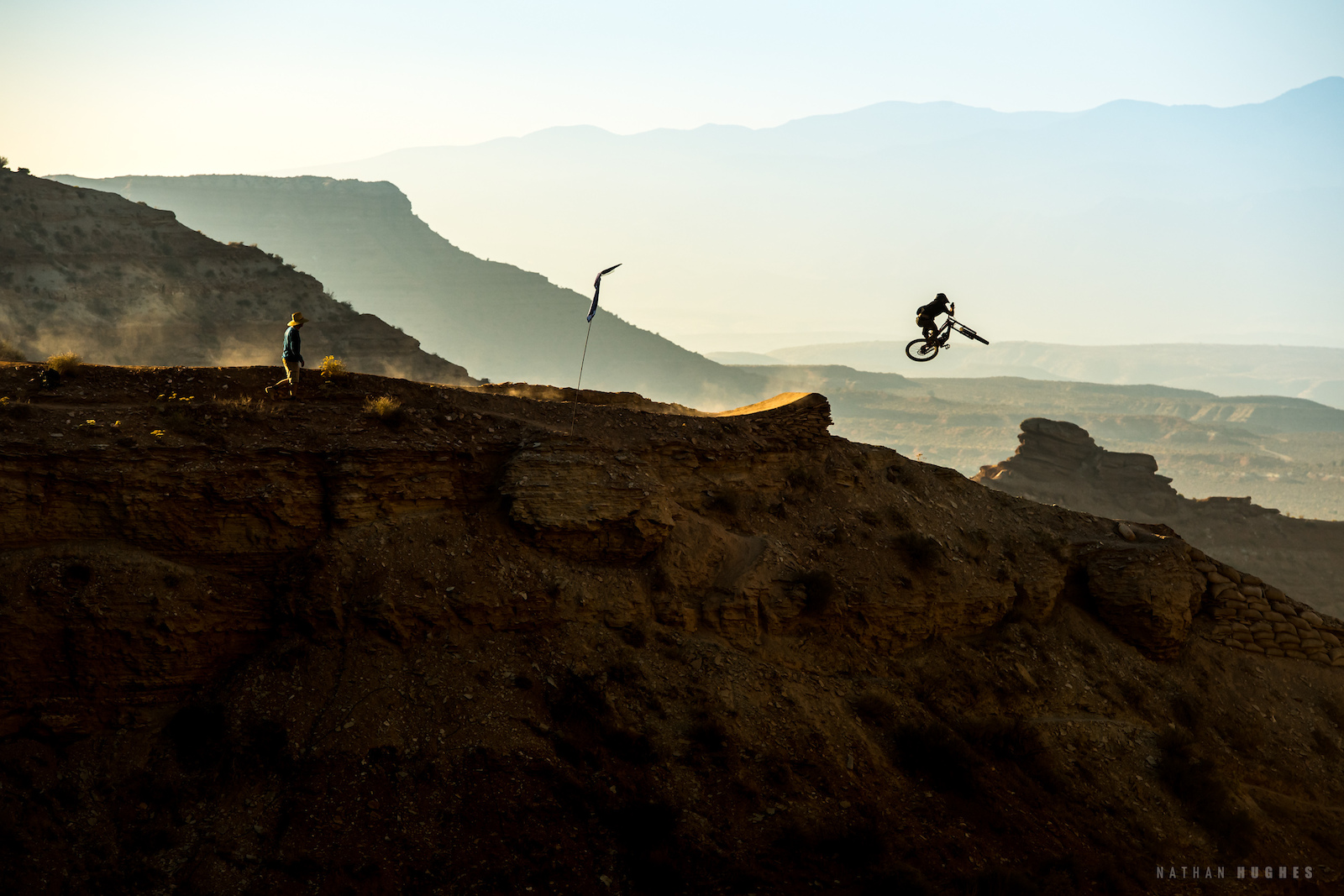 It wouldn t be Rampage without huge senders on every ridgeline. Ethan Nell brings the style.